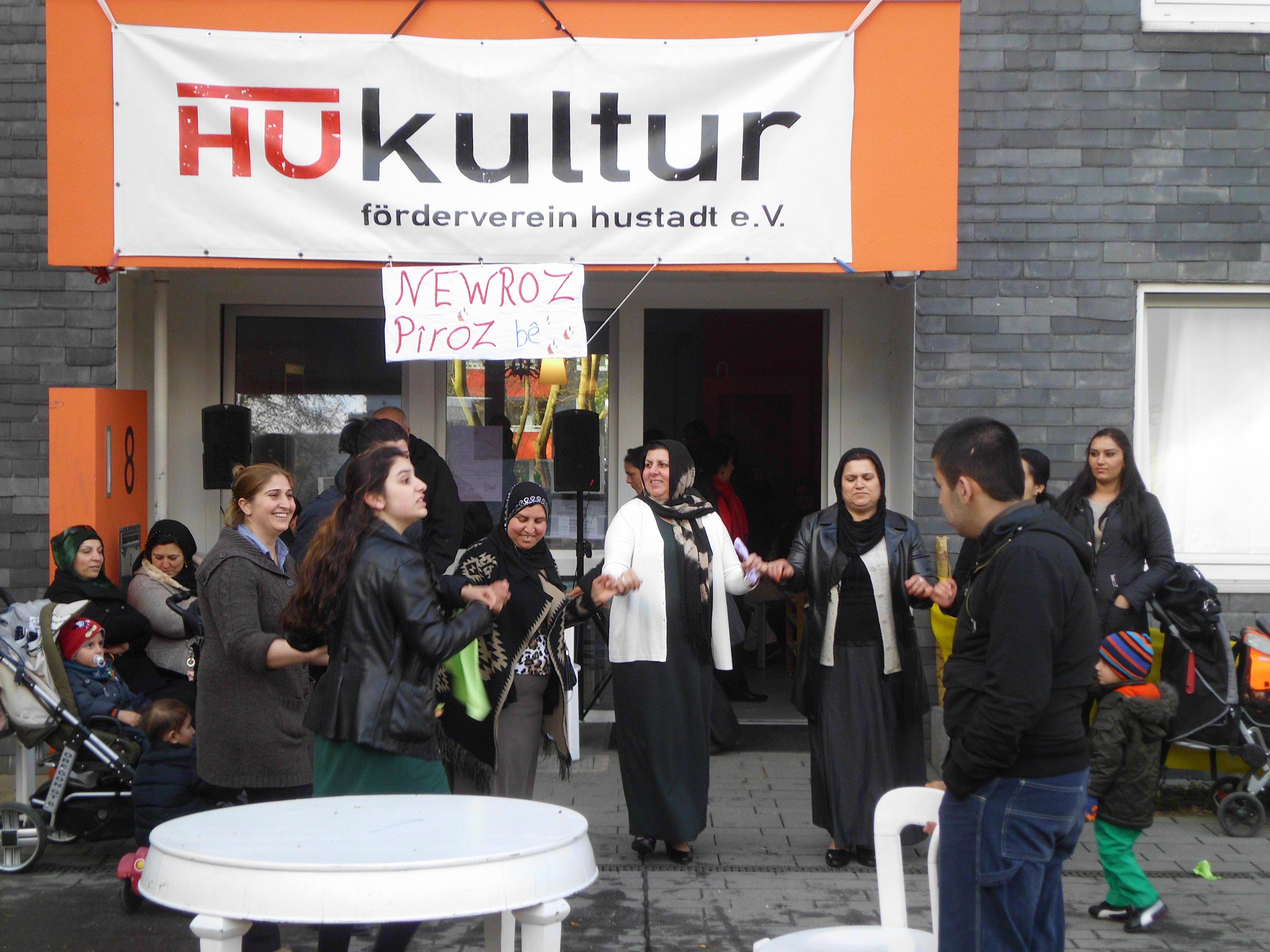 Veranstaltungshinweis: Newroz / Nouruz auf dem Brunnenplatz am 21.03.2018