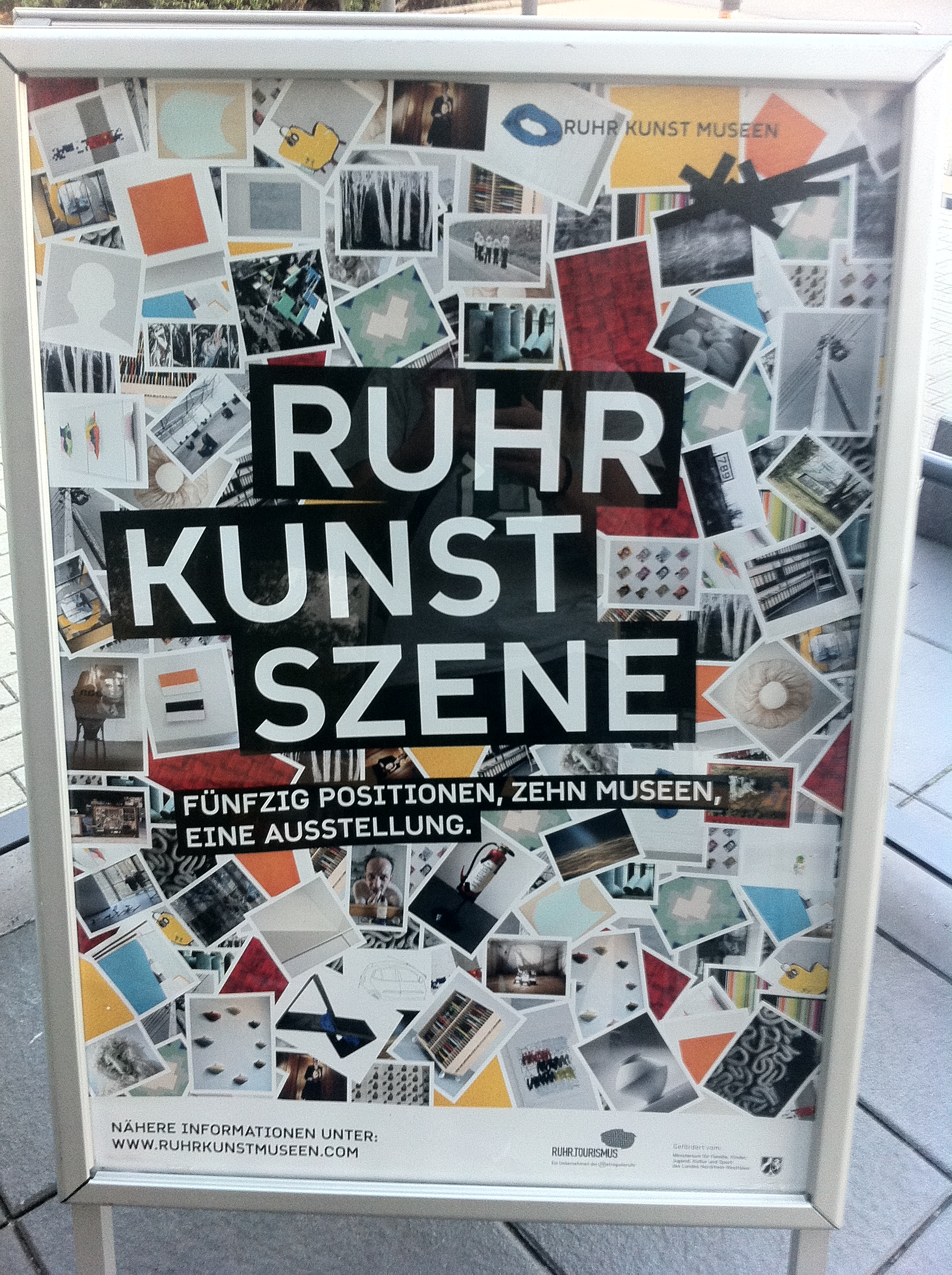 RuhrKunstSzene mit HUkultur mobil