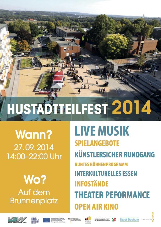 Hustadtteilfest am 27.09.2014 von 14:00 bis 22:00 Uhr