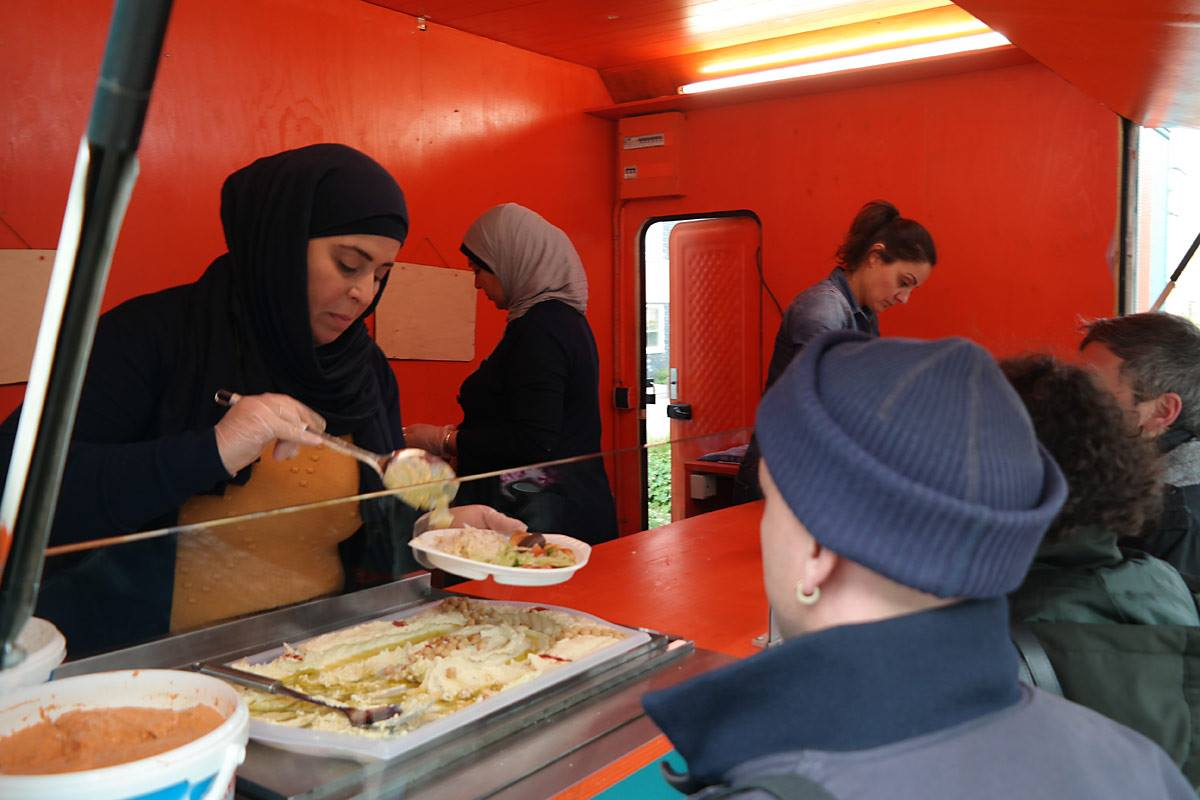 Kochen im Fachwerkhaus – mitten in der Hustadt – HuKultur will einen Catering-Service etablieren