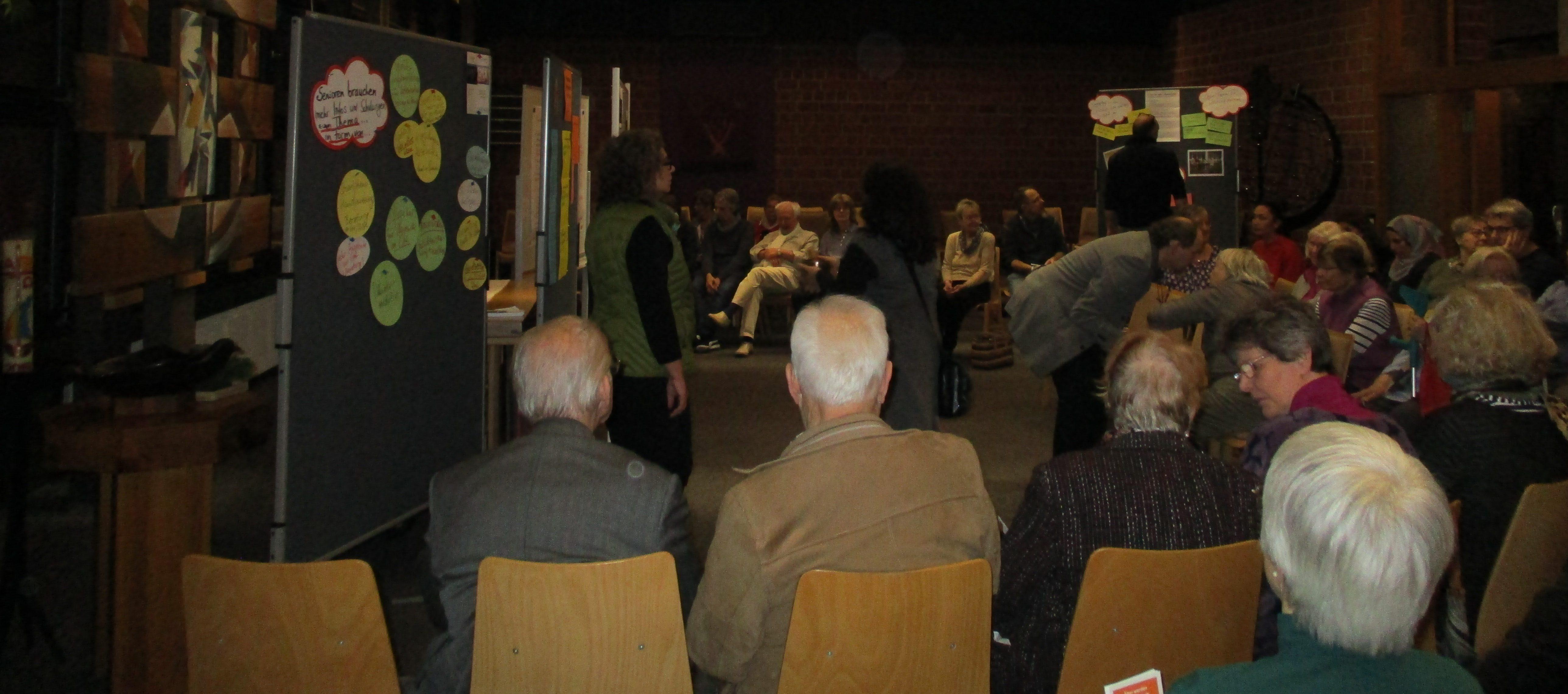 """Blick in die Zukunft:  Bürger*innenkonferenz """"Älter werden in der Hustadt"""" zeigt Herausforderungen auf"""